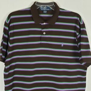 Polo By Ralph Lauren Men's Polo Shirt Striped